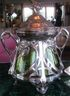 Punch Bowl with Lid and Ladle