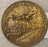 Baltimore & Ohio Railroad Centenary Medal
