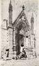 Porte Rouge, Notre Dame, Paris