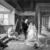 Ignacio León y Escosura (Spanish, 1834-1901). The Physician's Visit, 1881. Oil on panel, 15 3/4 x 22 1/2in. (40 x 57.2cm). Brooklyn Museum, Bequest of Caroline H. Polhemus, 06.68 (Photo: Brooklyn Museum, 06.68_glass_bw.jpg)