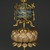 Buddhist Ritual Object in Form of a Canopy on Lotus Base, 1736-1795. Cloisonne enamel on copper alloy, overall: 15 x 4 3/4 in. (38.1 x 12.1 cm). Brooklyn Museum, Gift of Samuel P. Avery, Jr., 09.662. Creative Commons-BY (Photo: Brooklyn Museum, 09.662_detail1_PS2.jpg)