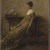 Thomas Wilmer Dewing (American, 1851-1938). Lady in Gold, ca. 1912. Oil on canvas, 24 x 18 1/16 in. (60.9 x 45.8 cm). Brooklyn Museum, Contemporary Picture Purchase Fund, 15.322 (Photo: Brooklyn Museum, 15.322_SL1.jpg)
