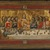 Pseudo-Jacopino di Francesco (Italian, Bolognese School, ca. 1325-1350/60). The Last Supper (Ultima Cena), ca. 1325-1330. Tempera and tooled gold on poplar panel, 7 11/16 x 14 in. (19.5 x 35.5 cm). Brooklyn Museum, Gift of A. Augustus Healy, 16.443 (Photo: Brooklyn Museum, 16.443_SL1.jpg)