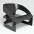 Joe Colombo (Italian, 1930-1971). Armchair (Model 4801/5), Designed 1965; Manufactured 1965-1971. Bent plywood, paint, gesso, rubber stoppers, 23 1/8 x 27 7/8 x 25 1/8in. (58.7 x 70.8 x 63.8cm). Brooklyn Museum, Designated Purchase Fund, 1991.146. Creative Commons-BY (Photo: Brooklyn Museum, 1991.146_threequarter_PS2.jpg)