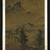 Jiang Song. Landscape with Fisherman, 1368-1644. Hanging Scroll, Ink on paper, Overall: 93 x 43 in. (236.2 x 109.2 cm). Brooklyn Museum, Gift of C.C. Wang & Family Collection, 1991.237.2 (Photo: Brooklyn Museum, 1991.237.2_IMLS_SL2.jpg)