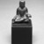 Gautama Buddha, 8th century. Bronze, overall (with mount): 2 1/2 x 2 x 1 3/8 in. (6.4 x 5.1 x 3.5 cm). Brooklyn Museum, Gift of Dr. Bertram H. Schaffner, 1993.106.1. Creative Commons-BY (Photo: Brooklyn Museum, 1993.106.1_bw.jpg)
