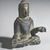 Gautama Buddha, 8th century. Bronze, overall (with mount): 2 1/2 x 2 x 1 3/8 in. (6.4 x 5.1 x 3.5 cm). Brooklyn Museum, Gift of Dr. Bertram H. Schaffner, 1993.106.1. Creative Commons-BY (Photo: Brooklyn Museum, 1993.106.1_threequarter_PS4.jpg)