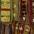 Yoruba. Egungun Dance Costume, mid 20th century. Wood, cotton and wool textiles, aluminum, est.: 55 x 6 x 63 in. (139.7 x 15.2 x 160 cm). Brooklyn Museum, Gift of Sam Hilu, 1998.125. Creative Commons-BY (Photo: Brooklyn Museum, 1998.125_detail2_PS9.jpg)