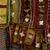 Yoruba. Egungun Dance Costume, mid 20th century. Wood, cotton and wool textiles, aluminum, est.: 55 x 6 x 63 in. (139.7 x 15.2 x 160 cm). Brooklyn Museum, Gift of Sam Hilu, 1998.125. Creative Commons-BY (Photo: Brooklyn Museum, 1998.125_detail4_PS9.jpg)