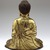 Seated Buddha Shakyamuni, 965 or 1025. Gilt bronze, 8 1/2 x 7 1/4 x 4 3/4 in. (21.6 x 18.4 x 12.1 cm). Brooklyn Museum, Gift of the Asian Art Council in memory of Mahmood T. Diba and Mary Smith Dorward Fund, 1999.42. Creative Commons-BY (Photo: Brooklyn Museum, 1999.42_back_SL4.jpg)