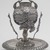 Mate Cup on Saucer, late 19th century. Silver, 7 x 6 3/16 x 6 3/16 in. (17.8 x 15.7 x 15.7 cm). Brooklyn Museum, Gift of Mary Ann Krotzer, 2003.50.1. Creative Commons-BY (Photo: Brooklyn Museum, 2003.50.1.jpg)