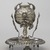 Mate Cup on Saucer, late 19th century. Silver, 7 x 6 3/16 x 6 3/16 in. (17.8 x 15.7 x 15.7 cm). Brooklyn Museum, Gift of Mary Ann Krotzer, 2003.50.1. Creative Commons-BY (Photo: Brooklyn Museum, 2003.50.1_PS6.jpg)