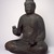 Figure of Seated Buddha, 794-1185. Wood, crystal, 34 1/2 x 29 1/2 x 21 1/2 in. (87.6 x 74.9 x 54.6 cm). Brooklyn Museum, The Peggy N. and Roger G. Gerry Collection, 2004.28.207. Creative Commons-BY (Photo: Brooklyn Museum, 2004.28.207_SL3.jpg)