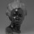 Malvina Hoffman (American, 1885-1966). Martinique Woman, 1928. Black metamorphic stone, 22 x 14 1/4 x 15 1/4 in., 158 lb. (55.9 x 36.2 x 38.7 cm, 71.67kg). Brooklyn Museum, Dick S. Ramsay Fund, 28.384. © Estate of Malvina Hoffman (Photo: Brooklyn Museum, 28.384_front_PS2.jpg)