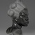 Malvina Hoffman (American, 1885-1966). Martinique Woman, 1928. Black metamorphic stone, 22 x 14 1/4 x 15 1/4 in., 158 lb. (55.9 x 36.2 x 38.7 cm, 71.67kg). Brooklyn Museum, Dick S. Ramsay Fund, 28.384. © Estate of Malvina Hoffman (Photo: Brooklyn Museum, 28.384_profile_PS2.jpg)