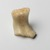 Fragment of Ushabti, ca. 1352-1336 B.C. Alabaster, 1 3/4 x 1 3/8 x 1 15/16 in. (4.5 x 3.5 x 5 cm). Brooklyn Museum, Charles Edwin Wilbour Fund, 33.51. Creative Commons-BY (Photo: Brooklyn Museum, 33.51_PS2.jpg)