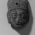 Head. Clay Brooklyn Museum, Ella C. Woodward Memorial Fund, 35.1781. Creative Commons-BY (Photo: Brooklyn Museum, 35.1781_acetate_bw.jpg)