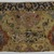 Carpet Fragment, mid-16th century. Warp: undyed ivory silk z2S. 2 levels Weft:white silk z1S. 3 shoots Pile: z2S; white is variable: 2,3,4,5 , Old: 21 1/2 x 6 5/8 in. (54.6 x 16.8 cm). Brooklyn Museum, Gift of Herbert L. Pratt in memory of his wife, Florence Gibb Pratt, 36.213f. Creative Commons-BY (Photo: Brooklyn Museum, 36.213f_PS2.jpg)