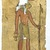 Illustrated Papyrus, 4th - 3rd century B.C.E. Papyrus, paint, ink, Ea1) Fragment: 13 9/16 x 6 9/16 in. (34.5 x 16.6 cm). Brooklyn Museum, Charles Edwin Wilbour Fund, 37.1647Ea-e (Photo: Brooklyn Museum, 37.1647Ea-e_detail1_SL4.jpg)