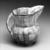 Tonala. Pitcher, 19th century. Glazed, ceramic, pigment, 6 3/4 x 5 x 8in. (17.1 x 12.7 x 20.3cm). Brooklyn Museum, Frank Sherman Benson Fund and the Henry L. Batterman Fund, 37.2965PA. Creative Commons-BY (Photo: Brooklyn Museum, 37.2965PA_bw.jpg)