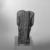 Kneeling Statue of Nesbanebdjedet, ca. 755-730 B.C.E. Steatite or faience, glazed, 5 3/8 x 1 7/8 x 3 1/4 in. (13.6 x 4.8 x 8.3 cm). Brooklyn Museum, Charles Edwin Wilbour Fund, 37.344E. Creative Commons-BY (Photo: Brooklyn Museum, 37.344E_back_bw_SL1.jpg)