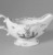 Gousse Bonnin. Sauce Boat, 1771-1772. Porcelain, with handle: 4 1/8 x 3 1/2 x 7 1/2 in. (10.5 x 8.9 x 19.1 cm). Brooklyn Museum, Dick S. Ramsay Fund, 42.412. Creative Commons-BY (Photo: Brooklyn Museum, 42.412_view2_acetate_bw.jpg)