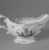 Gousse Bonnin. Sauce Boat, 1771-1772. Porcelain, with handle: 4 1/8 x 3 1/2 x 7 1/2 in. (10.5 x 8.9 x 19.1 cm). Brooklyn Museum, Dick S. Ramsay Fund, 42.412. Creative Commons-BY (Photo: Brooklyn Museum, 42.412_view3_acetate_bw.jpg)
