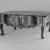 Low Estrado Table, second half of the 18th century. Mahogany, 20 1/2 x 50 x 28 1/2 in. (52.1 x 127 x 72.4 cm). Brooklyn Museum, Frank L. Babbott Fund, Frank Sherman Benson Fund, Carll H. de Silver Fund, A. Augustus Healy Fund, Caroline A.L. Pratt Fund, Charles Stewart Smith Memorial Fund, and Ella C. Woodward Memorial Fund, 48.206.10. Creative Commons-BY (Photo: Brooklyn Museum, 48.206.10_bw.jpg)