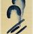 Georgia O'Keeffe (American, 1887-1986). Blue #4, 1916. Watercolor on paper, 15 15/16 x 10 15/16 in.  (40.5 x 27.8 cm). Brooklyn Museum, Dick S. Ramsay Fund, 58.76 (Photo: Brooklyn Museum, 58.76_PS2.jpg)
