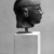 Egyptian. Head of a Kushite Ruler, ca. 716-702 B.C.E. Green schist, 2 3/4 x 2 1/16 x 2 9/16 in. (7 x 5.3 x 6.5 cm). Brooklyn Museum, Charles Edwin Wilbour Fund, 60.74. Creative Commons-BY (Photo: Brooklyn Museum, 60.74_NegB_bw_SL4.jpg)