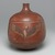 Nubian. Globular Vase with Cylindrical Neck, 2nd-3rd century C.E. Pottery, painted, 11 5/8 x Diam. 10 1/16 in. (29.5 x 25.6 cm). Brooklyn Museum, Charles Edwin Wilbour Fund, 67.177. Creative Commons-BY (Photo: Brooklyn Museum, 67.177_side4_PS1.jpg)