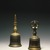 Samaya Gokorei (Five-Pronged Vajra Bell), 11th-14th century. Gilt, cast bronze, 6 x 2 3/4 in. (15.2 x 7 cm). Brooklyn Museum, Gift of Bernice and Robert Dickes, 69.124.2. Creative Commons-BY (Photo: Brooklyn Museum, 69.124.1_69.124.2_SL1.jpg)