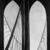 Georgia O'Keeffe (American, 1887-1986). Brooklyn Bridge, 1949. Oil on masonite, 47 15/16 x 35 7/8in. (121.8 x 91.1cm). Brooklyn Museum, Bequest of Mary Childs Draper, 77.11 (Photo: Brooklyn Museum, 77.11_bw.jpg)