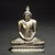 Seated Buddha, 18th century. Gilt bronze, 9 1/2 x 7 1/4 x 3 1/2 in. (24.1 x 18.4 x 8.9 cm). Brooklyn Museum, Gift of Dr. Bertram H. Schaffner, 84.267.1. Creative Commons-BY (Photo: Brooklyn Museum, 84.267.1_transp4289.jpg)