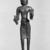 Standing Maitreya. Bronze, 8 1/2 x 1 3/4 x 7/8 in. (21.6 x 4.5 x 2.3 cm). Brooklyn Museum, Gift of Mr. and Mrs. Edward Greenberg, 86.259.2. Creative Commons-BY (Photo: Brooklyn Museum, 86.259.2_bw.jpg)