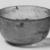 Roman. Bowl of Plain Blown Glass, 1st - 5th century C.E. Glass, 2 1/16 x greatest diam. 4 in. (5.2 x 10.1 cm). Brooklyn Museum, Gift of Robert B. Woodward, 01.147. Creative Commons-BY (Photo: Brooklyn Museum, CUR.01.147_negA_bw.jpg)