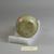 Roman. Bottle, 4th century C.E. Glass, 3 3/16 x Diam. 2 1/4 in. (8.1 x 5.7 cm). Brooklyn Museum, Gift of Robert B. Woodward, 01.178. Creative Commons-BY (Photo: Brooklyn Museum, CUR.01.178_bottom.jpg)