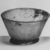 Roman. Bowl, 2nd-3rd century C.E. Glass, 2 3/16 x greatest diam. 3 3/4 in. (5.5 x 9.6 cm). Brooklyn Museum, Gift of Robert B. Woodward, 01.187. Creative Commons-BY (Photo: Brooklyn Museum, CUR.01.187_negA_bw.jpg)