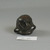 Roman. Two-handled Pot Imitating Stone, 4th-5th century C.E. Glass, 1 9/16 x 1 7/16 x 1 7/8 in. (3.9 x 3.6 x 4.7 cm). Brooklyn Museum, Gift of Aziz Khayat, 12.47. Creative Commons-BY (Photo: Brooklyn Museum, CUR.12.47_bottom.jpg)