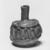 Roman. Bottle of Blown Glass, 7th - 8th century C.E. Glass, 2 7/16 x Diam. 2 in. (6.2 x 5.1 cm). Brooklyn Museum, Gift of Aziz Khayat, 12.6. Creative Commons-BY (Photo: Brooklyn Museum, CUR.12.6_negA_bw.jpg)