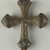 Coptic. Cross. Iron, 13/16 x 13/16 in. (2.1 x 2 cm). Brooklyn Museum, Gift of Evangeline Wilbour Blashfield, Theodora Wilbour, and Victor Wilbour honoring the wishes of their mother, Charlotte Beebe Wilbour, as a memorial to their father, Charles Edwin Wilbour, 16.370. Creative Commons-BY (Photo: Brooklyn Museum (in collaboration with Index of Christian Art, Princeton University), CUR.16.370a_ICA.jpg)