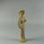 Mycenaean. Female Figure, ca. 1420-1190 B.C.E. Terracotta, painted, 4 1/2 x 1 7/8 x 1 1/16 in. (11.4 x 4.8 x 2.7 cm). Brooklyn Museum, Charles Edwin Wilbour Fund, 35.743. Creative Commons-BY (Photo: Brooklyn Museum, CUR.35.743_view02.jpg)