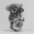 Phoenician. Pendant in Form of Monkey, 5th century B.C.E. Glass, 15/16 x 9/16 x 13/16 in. (2.4 x 1.4 x 2 cm). Brooklyn Museum, Charles Edwin Wilbour Fund, 37.1655E. Creative Commons-BY (Photo: Brooklyn Museum, CUR.37.1655E_grpA_bw.jpg)