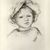 Pierre-Auguste Renoir (French, 1841-1919). Child's Head (Tête d'enfant), ca. 1893. Lithograph on China paper, 11 1/8 x 9 1/8 in. (28.2 x 23.2 cm). Brooklyn Museum, Charles Stewart Smith Memorial Fund, 38.370 (Photo: Brooklyn Museum, CUR.38.370.jpg)