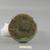 Roman. Small Vase of Trumpet Shape, 2nd century C.E. Glass, 2 3/4 x Diam. 3 9/16 in. (7 x 9.1 cm) . Brooklyn Museum, Gift of Mrs. Adrian Van Sinderen, 46.154.4. Creative Commons-BY (Photo: Brooklyn Museum, CUR.46.154.4_bottom.jpg)