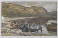 Brooklyn Museum: The Second Miraculous Draught of Fishes (La seconde pêche miraculeuse)