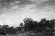 Brooklyn Museum: Landscape with Indians