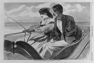 Brooklyn Museum: Our Watering Places--The Empty Sleeve at Newport