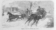Brooklyn Museum: Sleighing on the Road