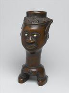 Brooklyn Museum: Figurative Cup (Mbwoongntey)